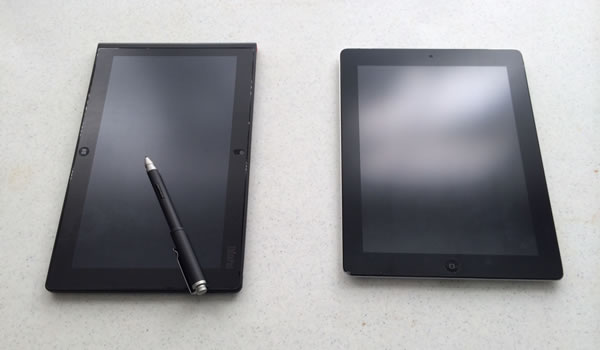 TPT2 with the iPad 3