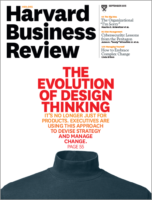Harvard Business Review, September 2015