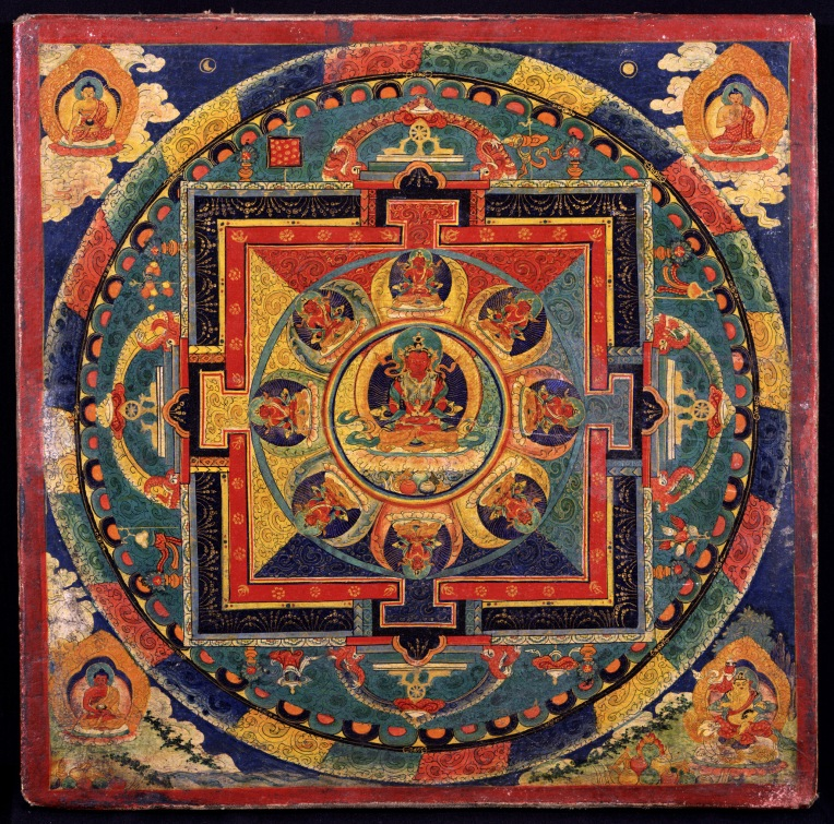 A Buddhist mandala. Source: Wikimedia