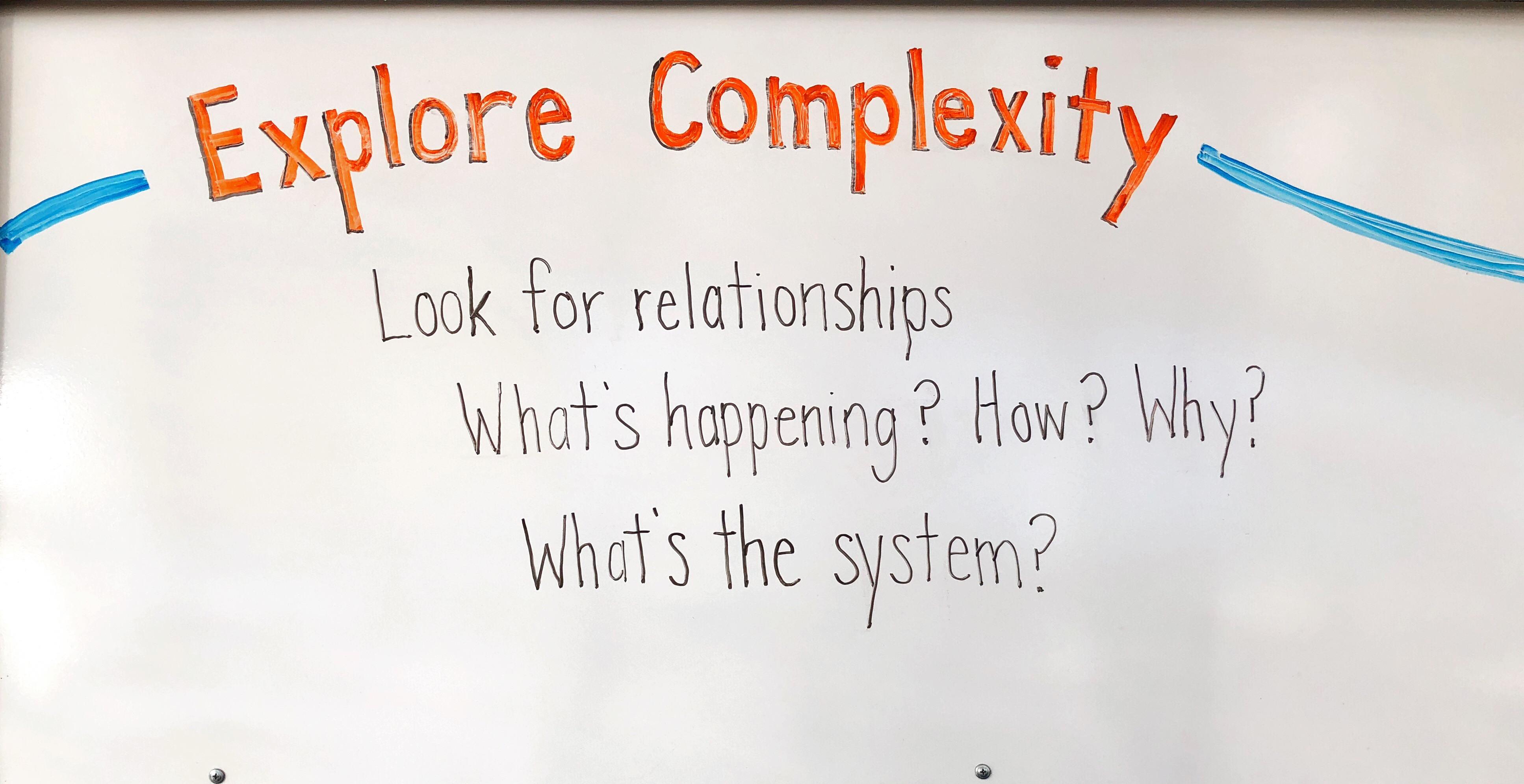 Explore Complexity