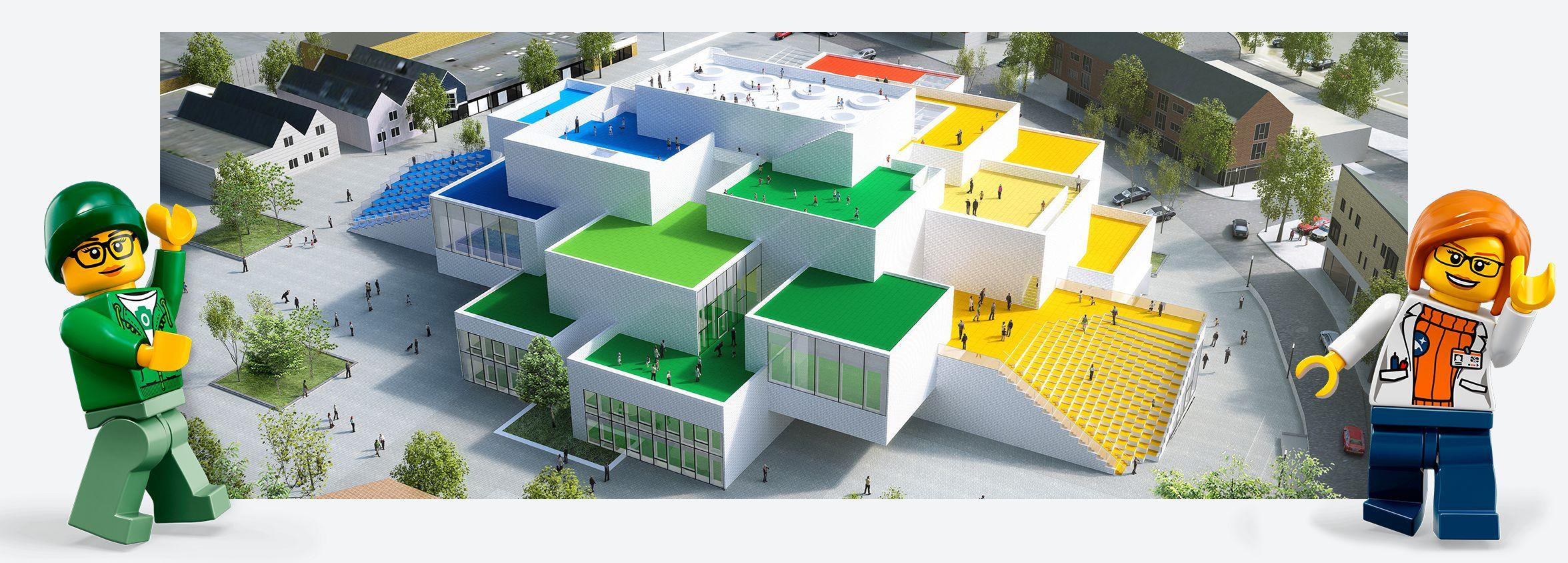 LEGO House. Image: LEGO