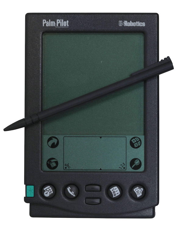 Image: Wikimedia. (https://en.wikipedia.org/wiki/PalmPilot#/media/File:Palm-IMG_7025.jpg)